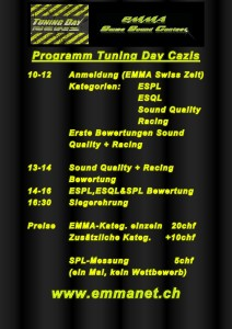 Programm Tuning Day Cazis-001