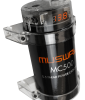 MUSWAY'S BRAND-NEW TOP-EXECUTIVE: MC500 BUFFER CAPACITOR